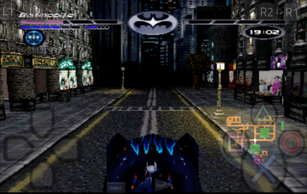 Batman and Robin PSX Rom