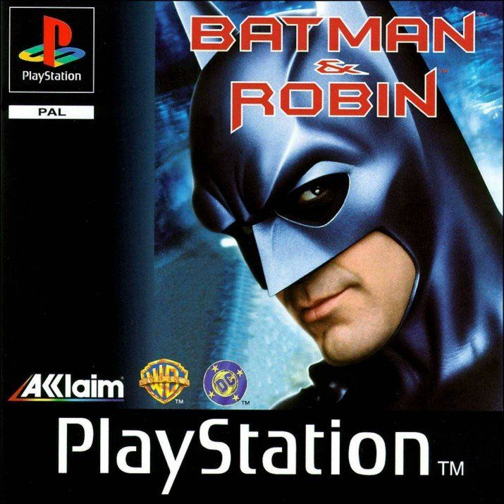 Batman and Robin PSX Cover