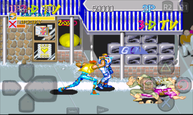 Captain Commando Stage 1